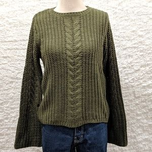 Moth Cable Knit Sweater
